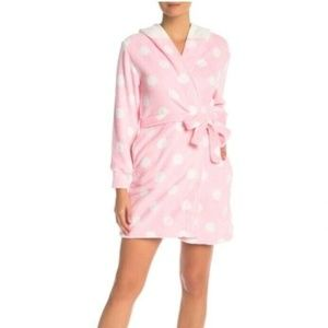 Hello Kitty Womens Hooded Robe Large Pink